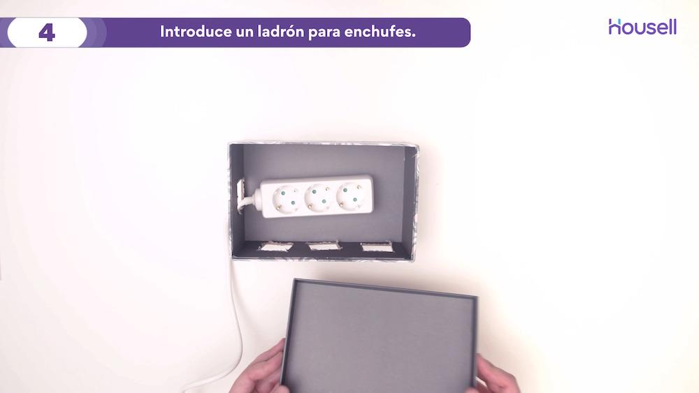 29.05 - DIY Organizador De Cables 5 Filtro